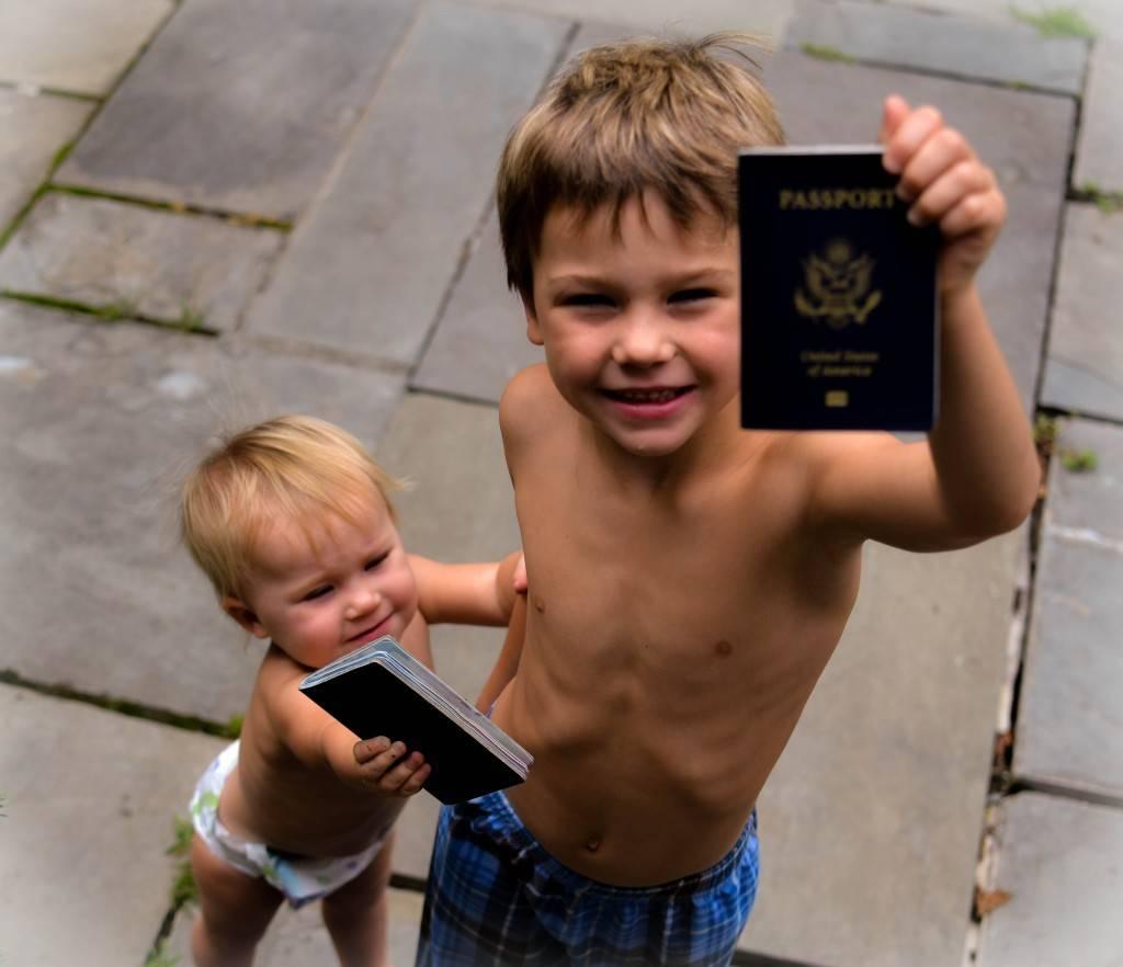 Информация о готовности загранпаспорта