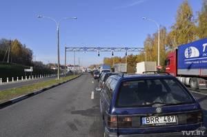 Электронная очередь на границе с литвой