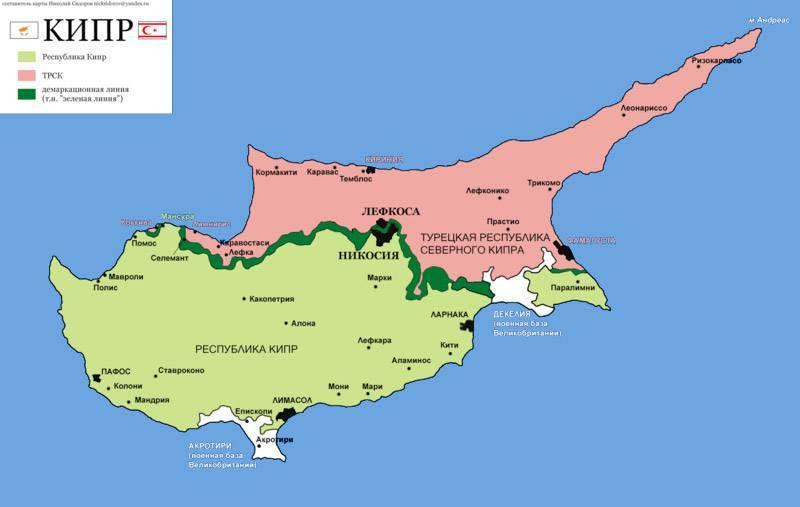 Нужна ли белорусам виза на кипр
