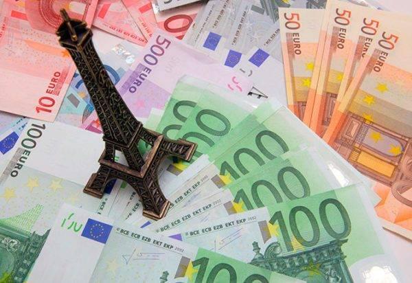 Франция средняя зарплата