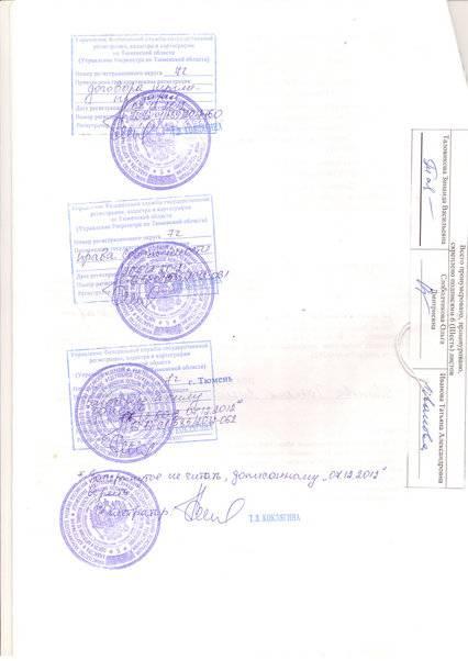 Свидетельство о праве собственности на квартиру образец