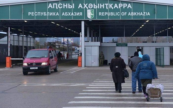 Абхазия без загранпаспорта