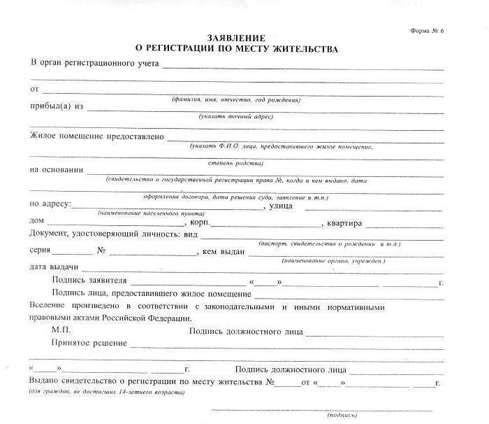 Штраф за отсутствие регистрации в москве