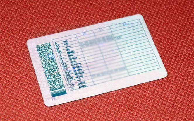 Водительское удостоверение венской конвенции