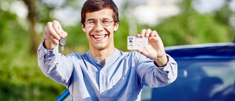 Поддельное водительское удостоверение