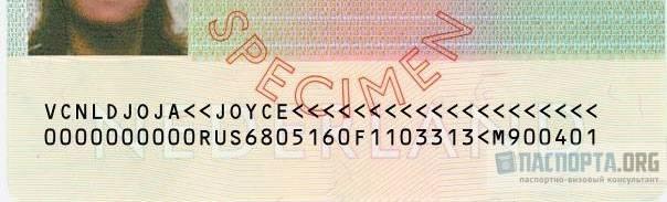 Расшифровка визы