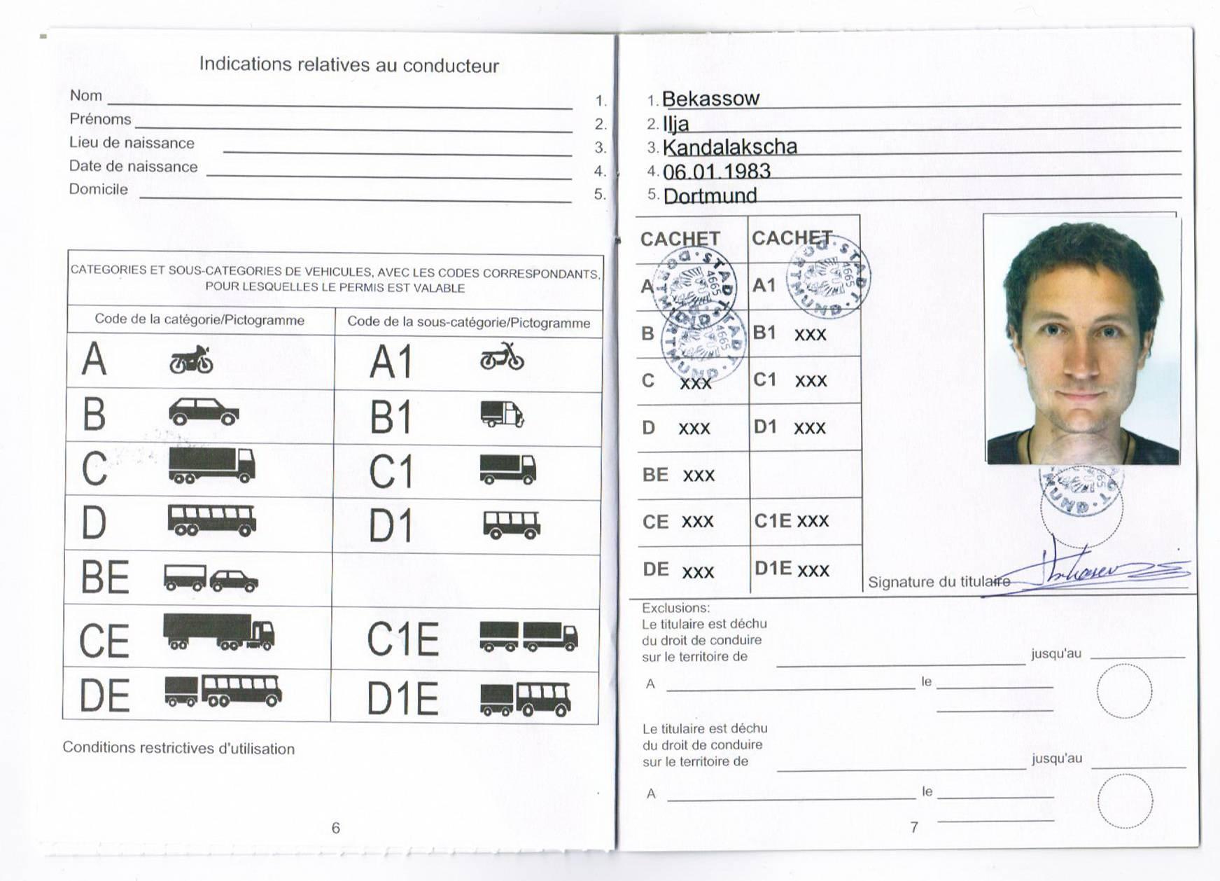 Какие документы нужны для прав на машину