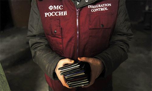 Количество иностранцев в россии