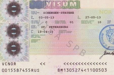 Какая виза нужна в норвегию