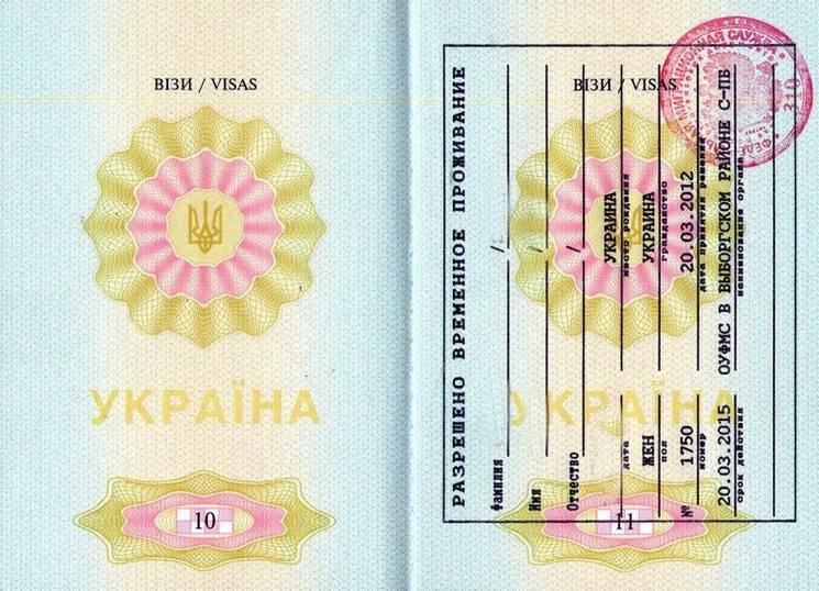 Как получить рвп гражданину украины в россии