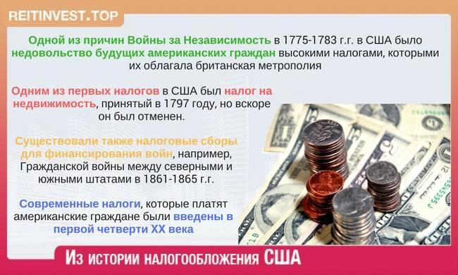 Налог на имущество в сша