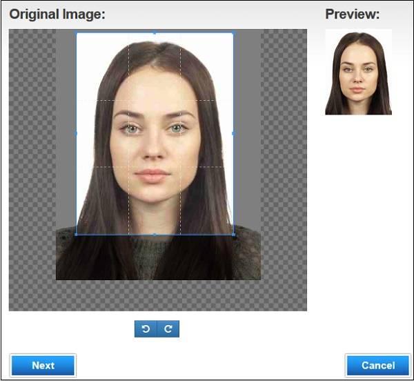 Фото на загранпаспорт онлайн редактор
