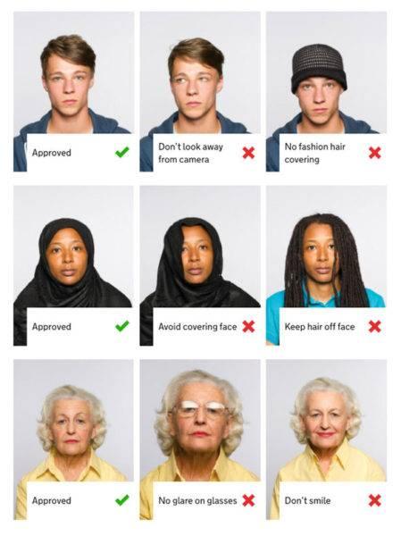 Размер фото на паспорт