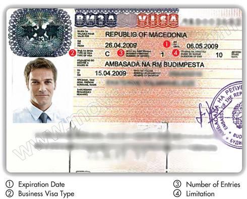 Македония виза для россиян