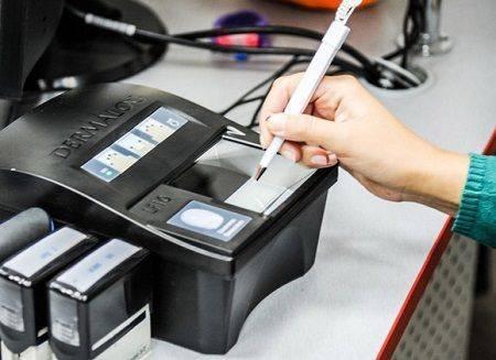 Биометрический паспорт в украине