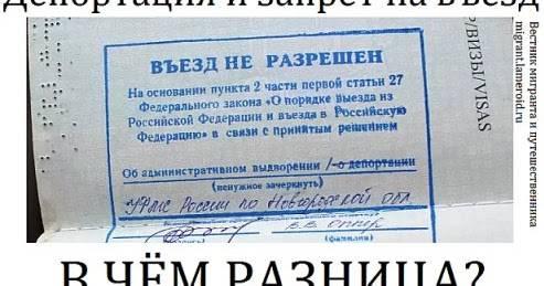 Как депортировать человека из россии анонимно