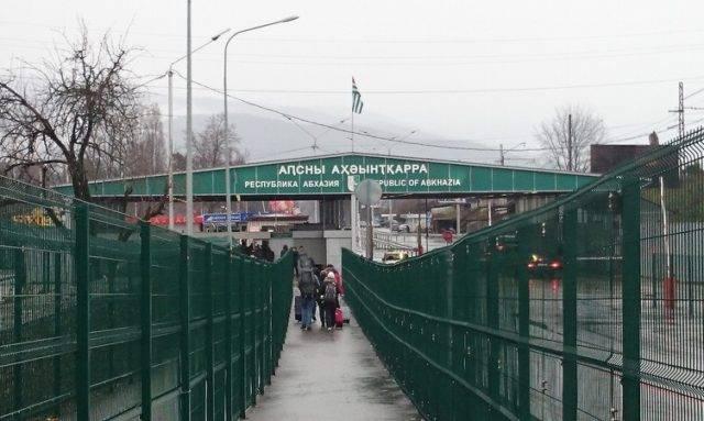 Что проверяют на границе с абхазией