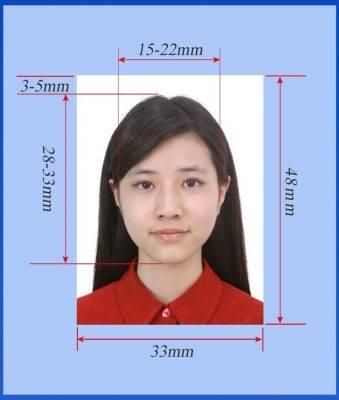 Требования к фото на визу в китай