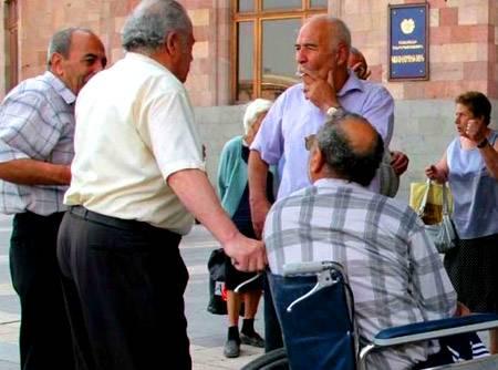 Пенсионный возраст в армении