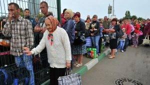 Помощь переселенцам из донбасса