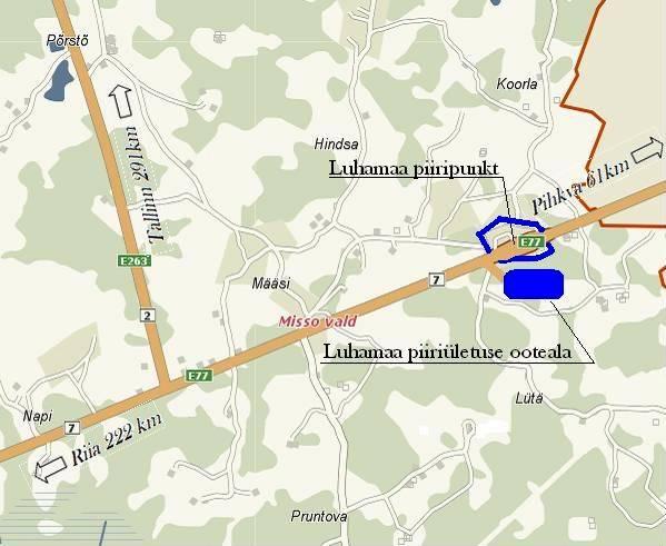 Эстония граничит с россией