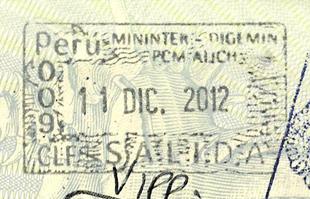 Перу виза для россиян