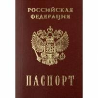 Размер российского паспорта