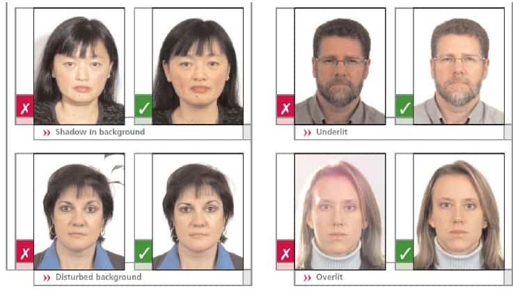 Фото для паспорта размер