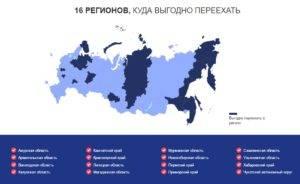 Куда можно переехать жить в россии