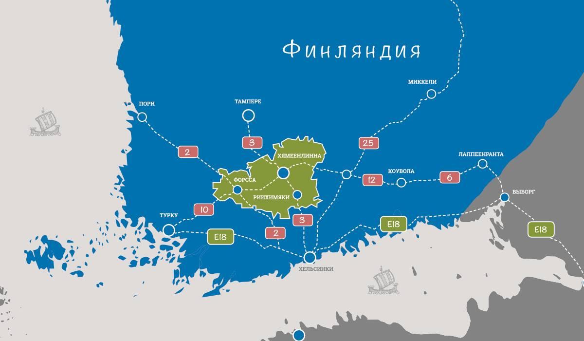 Как поехать в финляндию из питера
