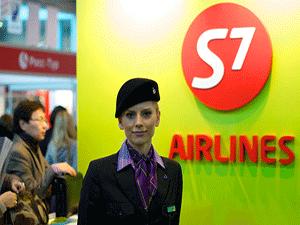 S7 забронировать место в самолете
