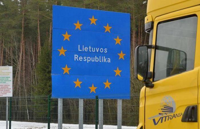 Пробки на границе с литвой