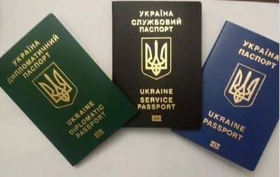 Новый паспорт украины