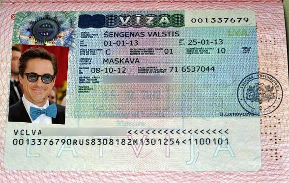 Заполнить анкету на визу в латвию