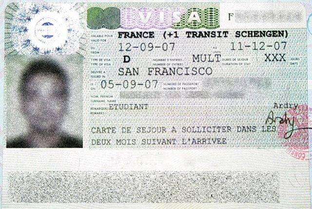 Как заполнить анкету на визу во францию