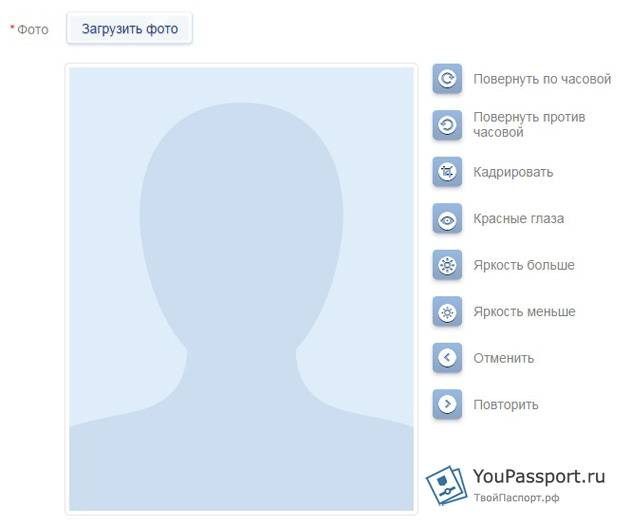 Получение паспорта в 45 лет