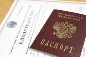 Серия и номер паспорта россия пример
