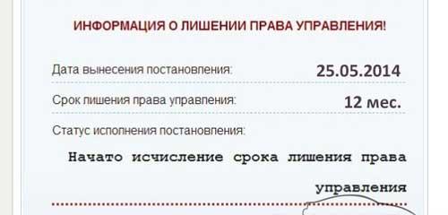Проверка водительского удостоверения на действительность