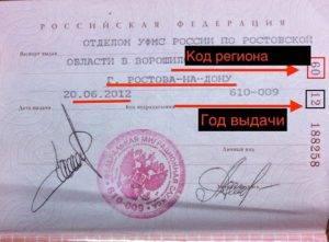 Что такое серия и номер паспорта