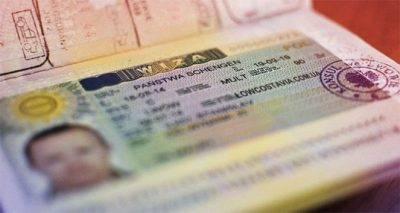 Как выглядит виза шенген в паспорте