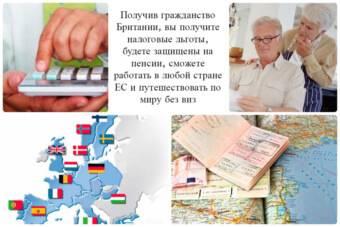 Как получить гражданство великобритании гражданину россии