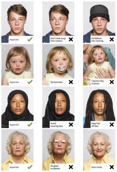 Размер фото для шенгенской визы