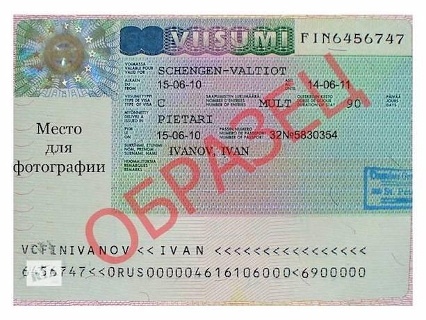 Мультишенгенская виза что это такое