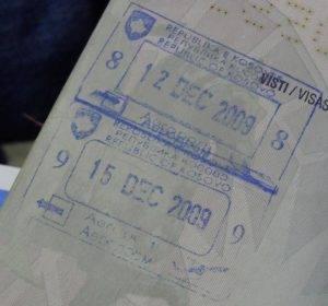 Визовый режим с сербией