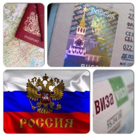 Виды виз в россию для иностранцев