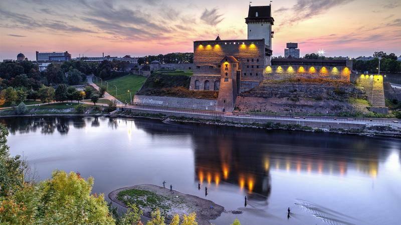 Очередь на эстонской границе онлайн