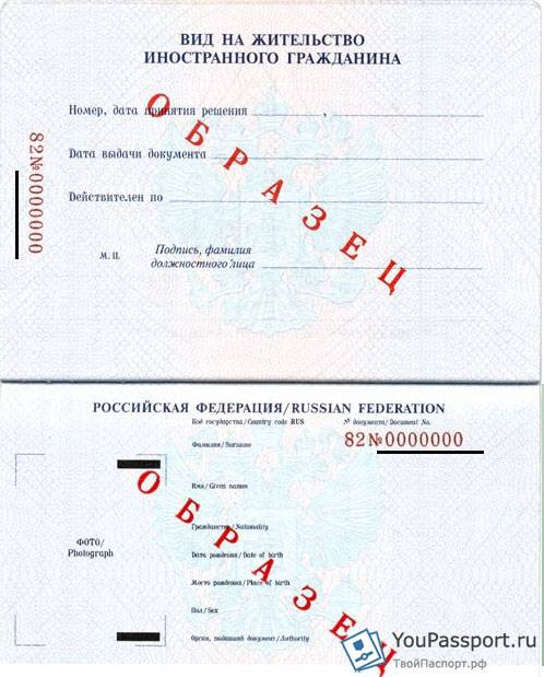 Номер документа паспорт