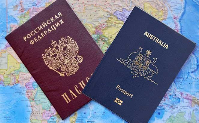Два гражданства в россии