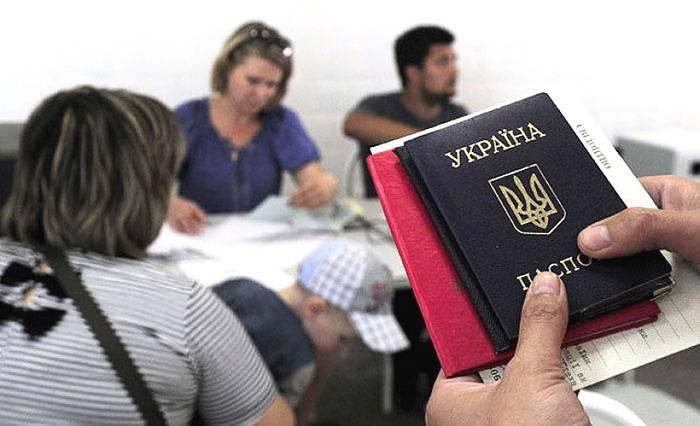 Сколько беженцев в россии из украины