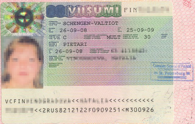 Как сделать шенгенскую визу в санкт петербурге